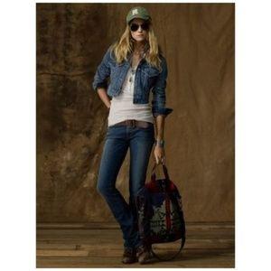 RALPH LAUREN Stretch Denim Bootcut Jeans sz 10